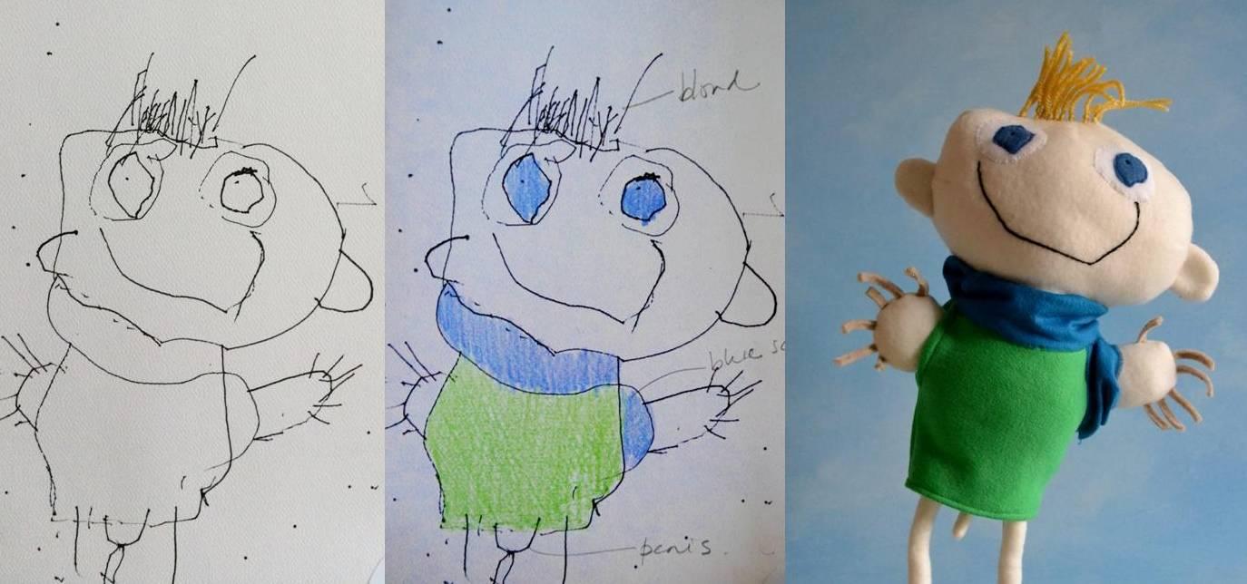 1374x644 Craft Artist Brings Kids' Drawings To Life Mnn