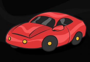 350x242 How To Draw How To Draw A Car For Kids