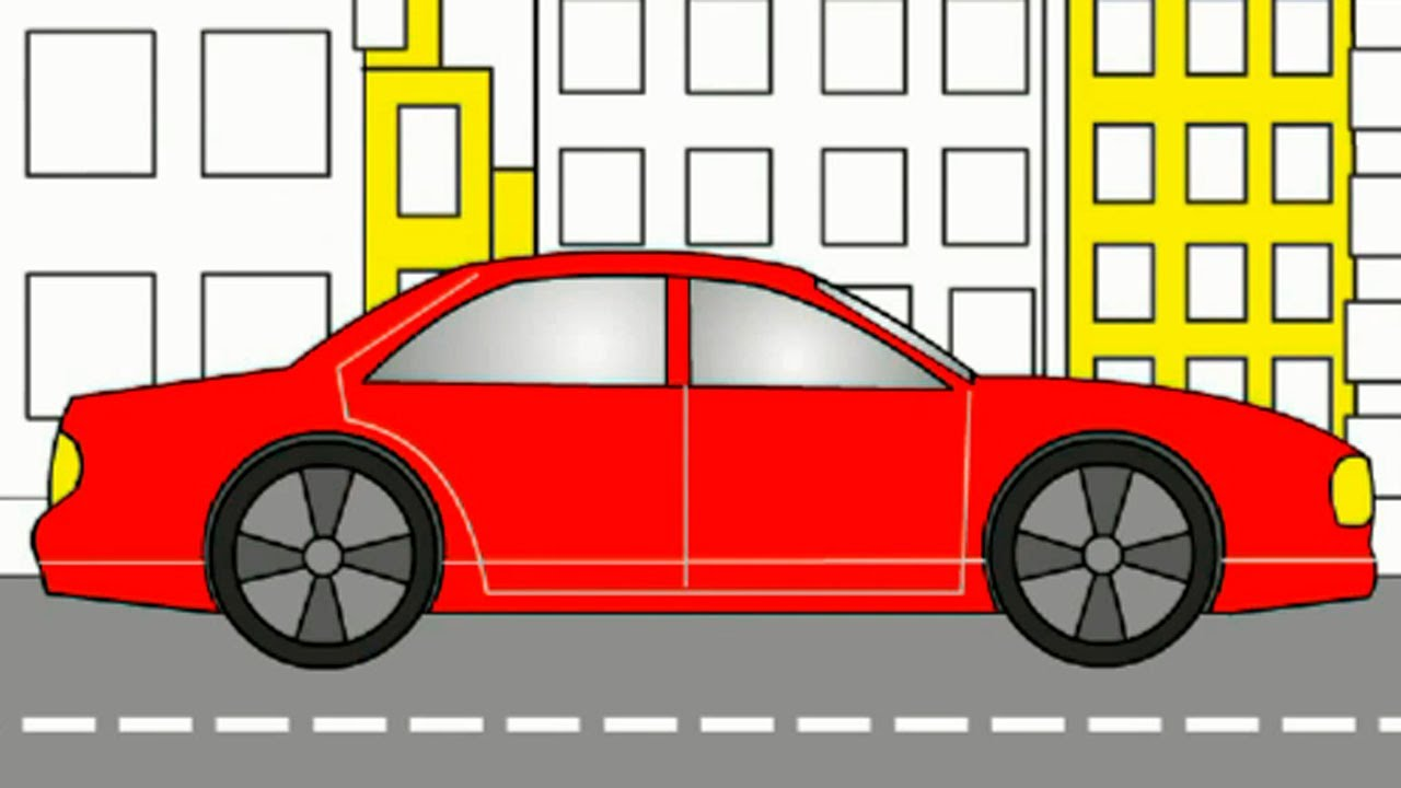 1280x720 Learn Colors With Cars For Kids. Learning Videos.