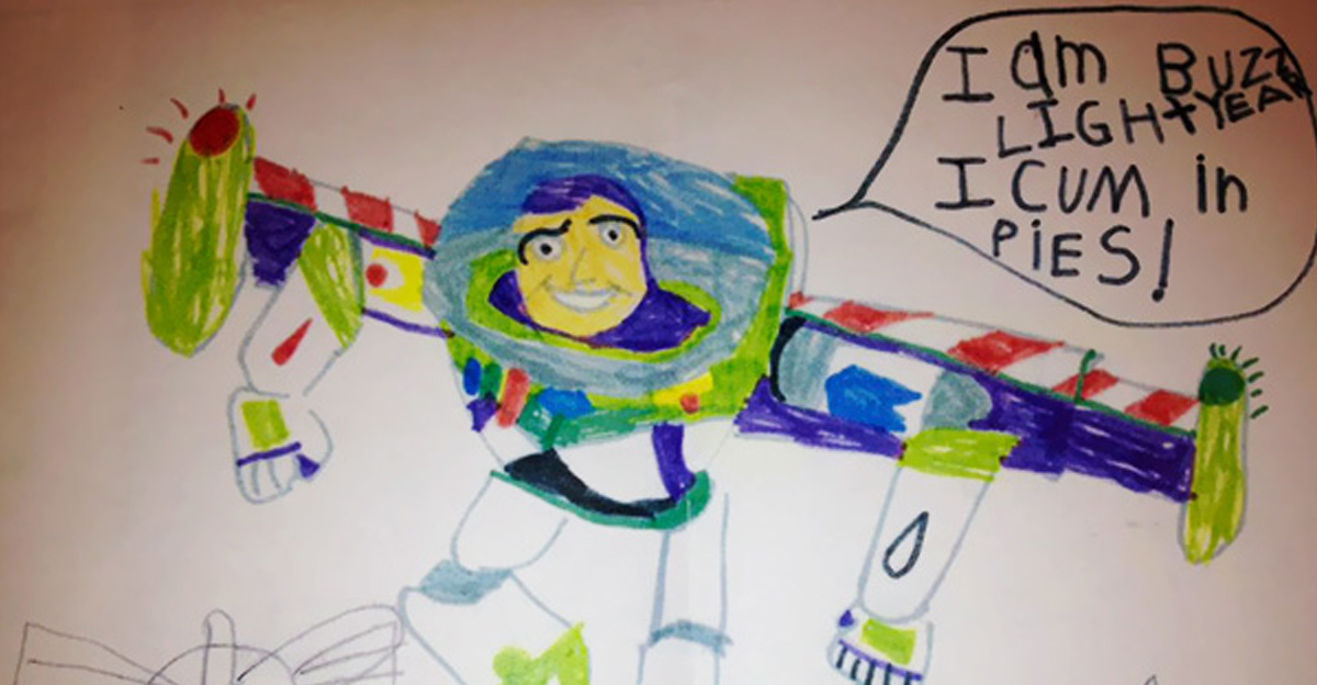 1200x624 20 Funny Kid Drawings That Went Awkwardly Wrong