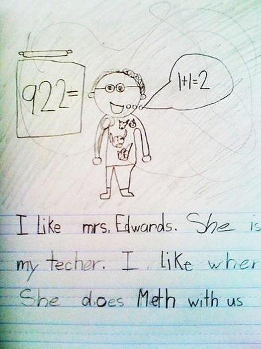 525x700 Amusing Kid's Drawings