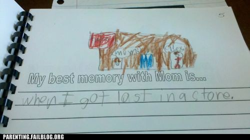500x281 Kid's Drawing Won'T Let Mom Ever Forget Her Parenting Fail Huffpost