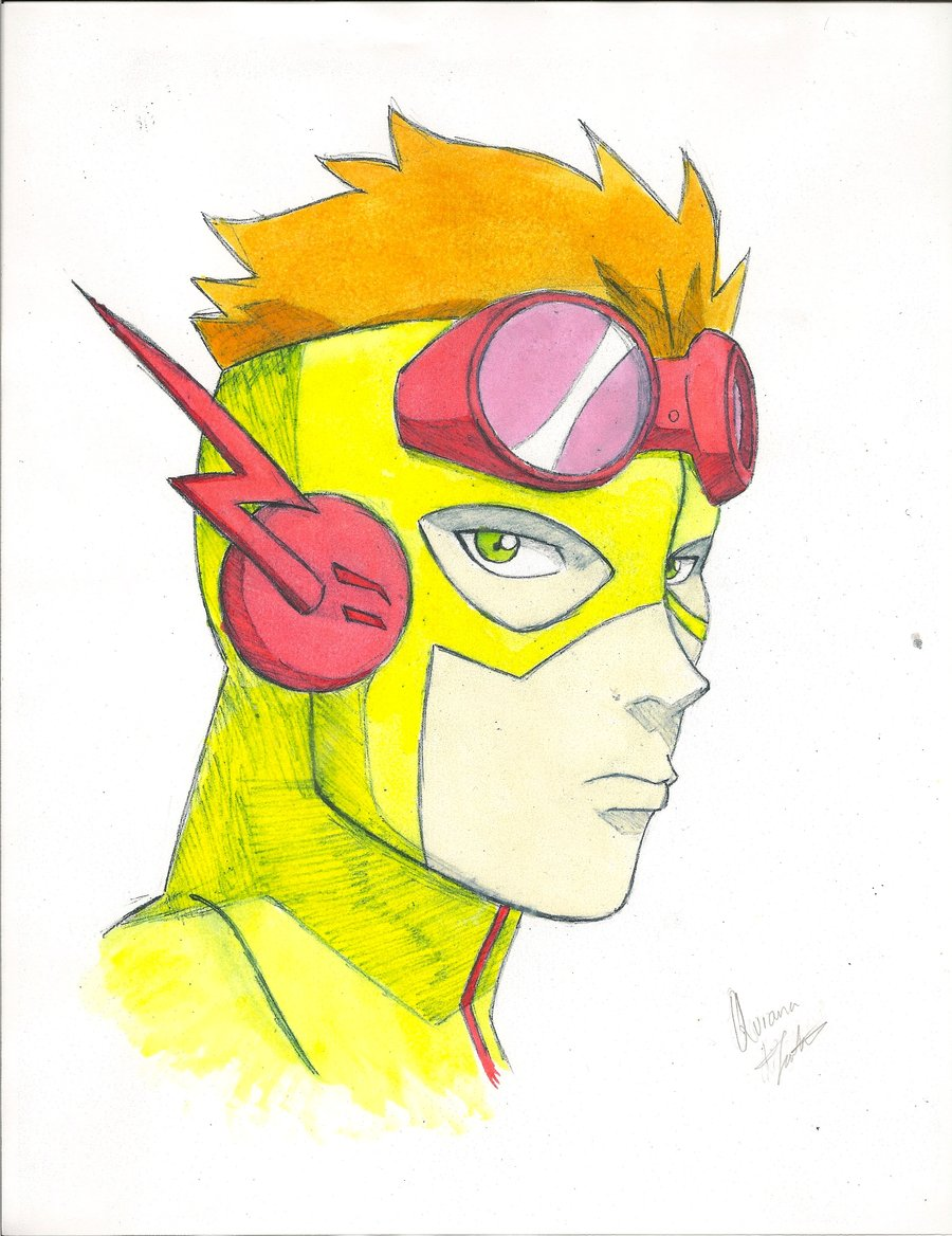 900x1168 How To Draw Kid Flash Young Justice Kid Flash Young Justice