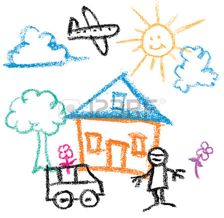 450x437 Kids Drawing Stock Photos. Royalty Free Business Images