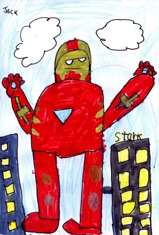 540x796 Drawing Contest Invent A Super Hero St. Louis, Missouri