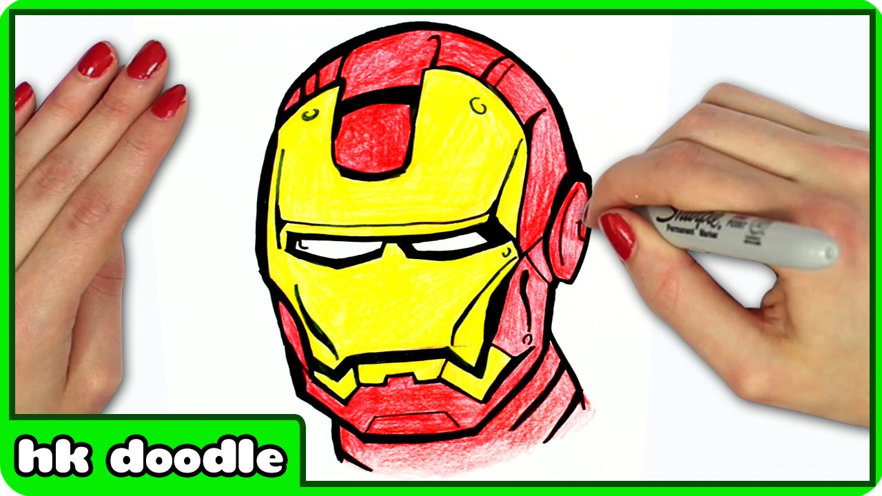 1280x720 How To Draw Iron Man From Avengers