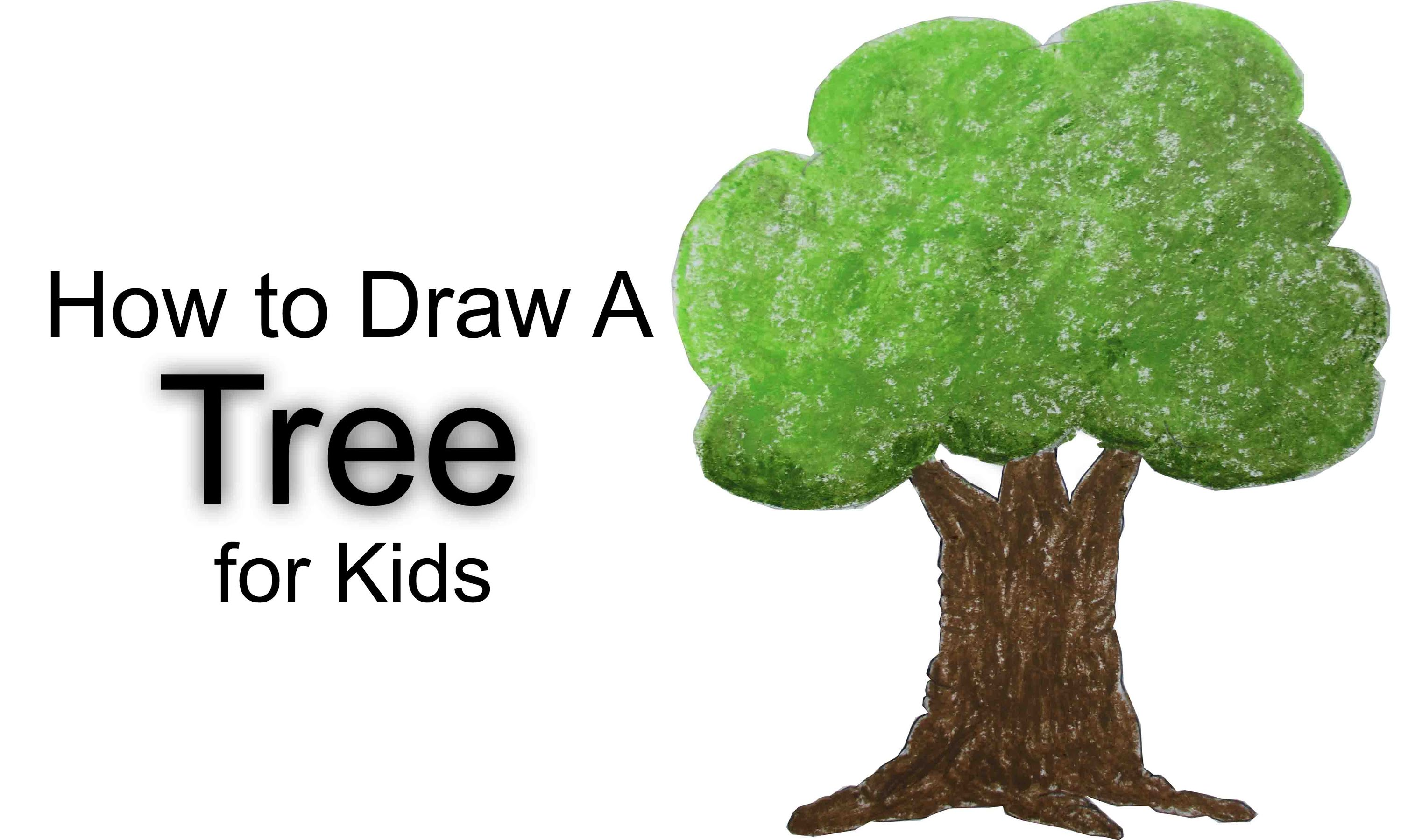 3000x1800 How To Draw A Tree For Kids