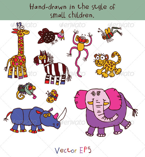 590x638 Gallery Kids Drawing Animal Pictures,