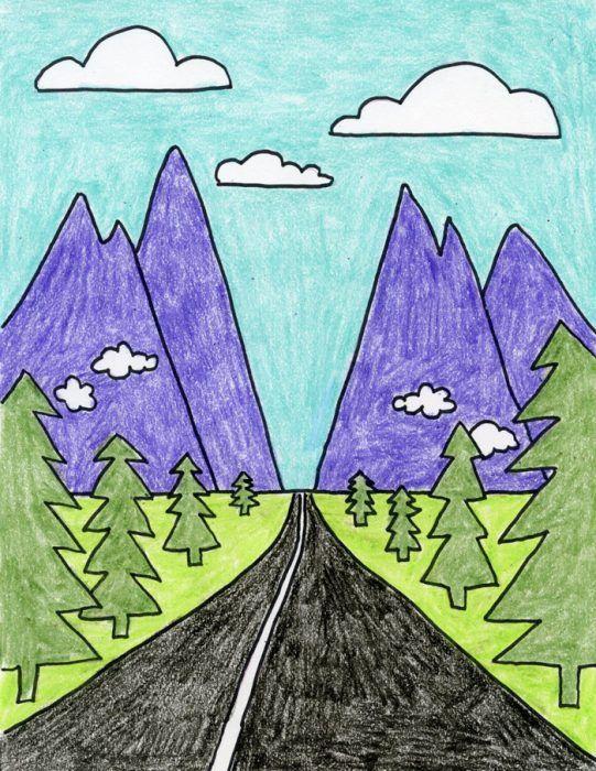 541x700 Gallery Art Drawings For Kids,