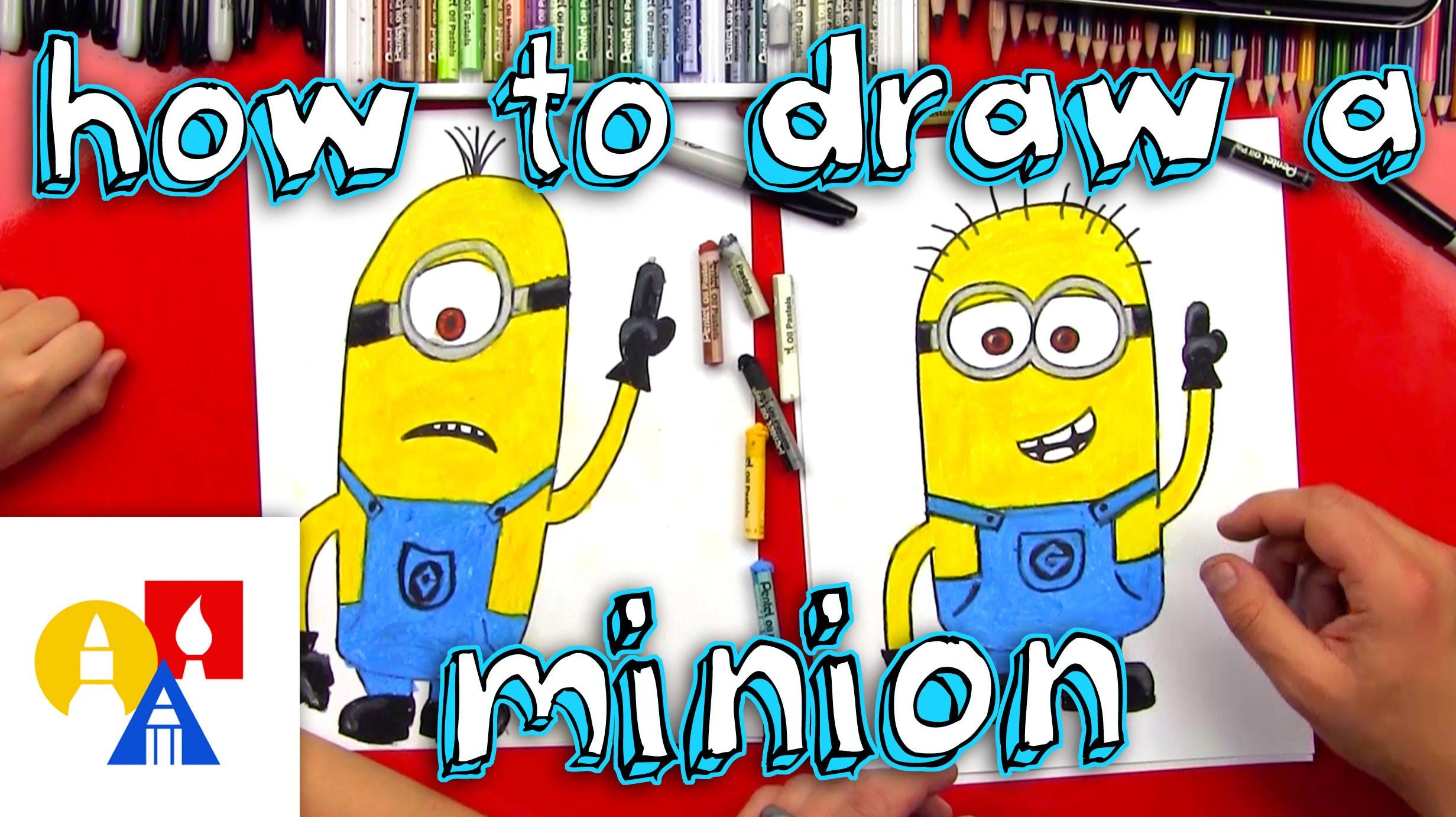 2463x1381 How To Draw A Minion