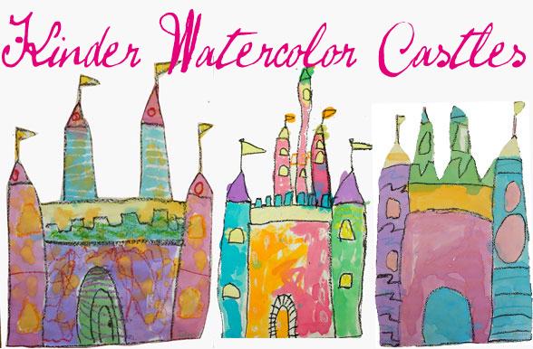 588x386 Watercolor Castle Art Project Deep Space Sparkle