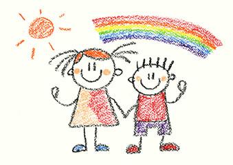Kids Crayon Drawing at GetDrawings | Free download