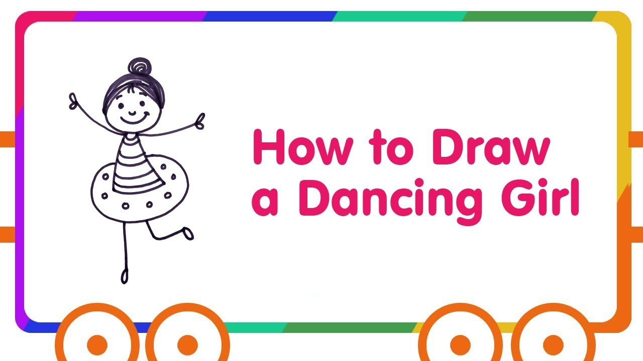 Kids Dancing Drawing at GetDrawings.com | Free for personal use Kids ...
