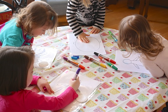 Coloring Pages Of Children S Faces : Kids drawing activity at getdrawings free for personal use