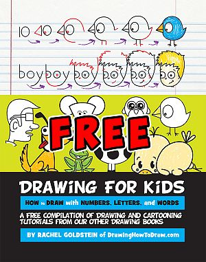 300x381 Free Drawing Activity Book For Kids Drawings And Activities
