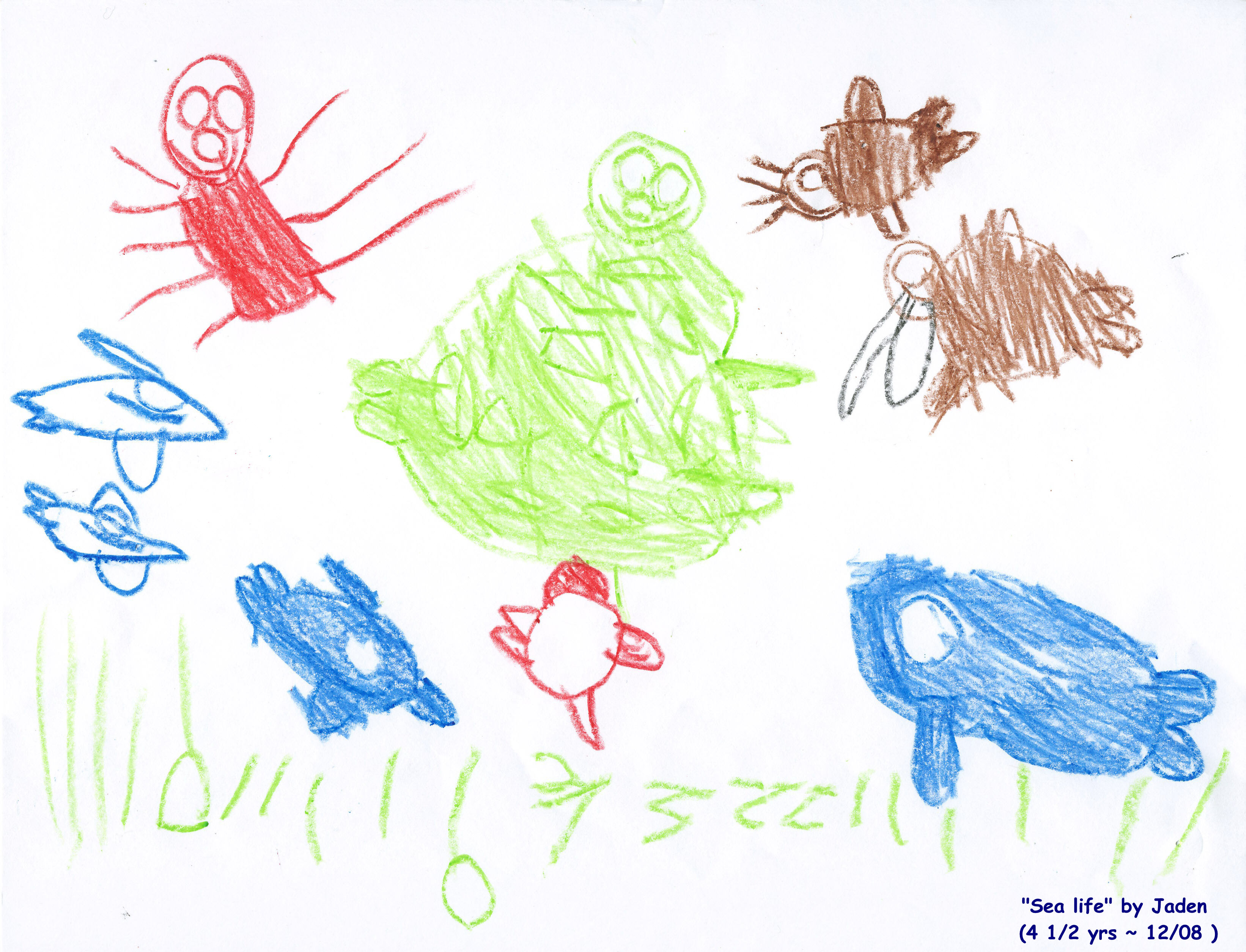 Kids Drawing Animals at GetDrawings.com | Free for personal use Kids ...