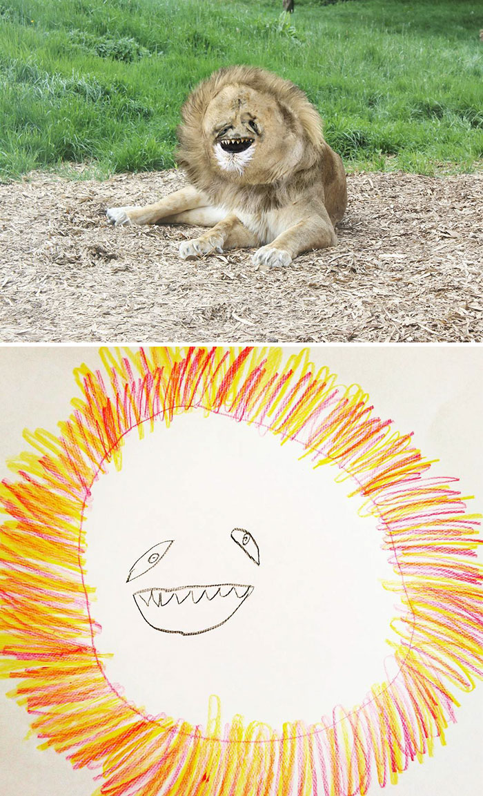 700x1153 Dad Turns His 6 Year Old Son's Drawings Into Reality And