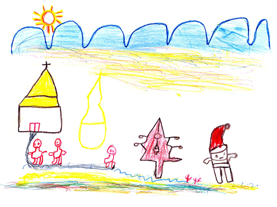 900x672 Drawing Of Christmas By Sos Child In Ethiopia.jpg