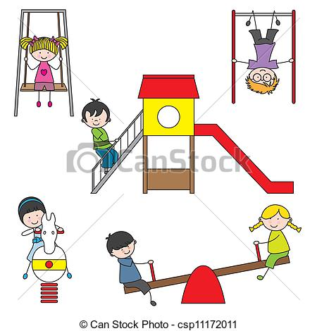 450x470 Illustration Of Kids Playing
