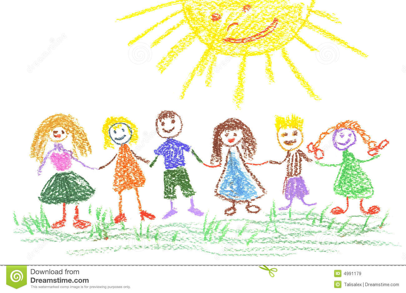 1300x939 Drawing Of Summer Season For Children