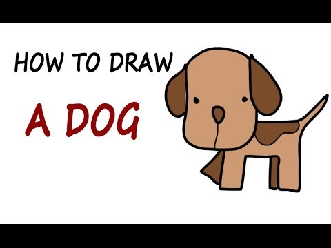 480x360 Drawing Lessons For Kids How To Draw A Dog