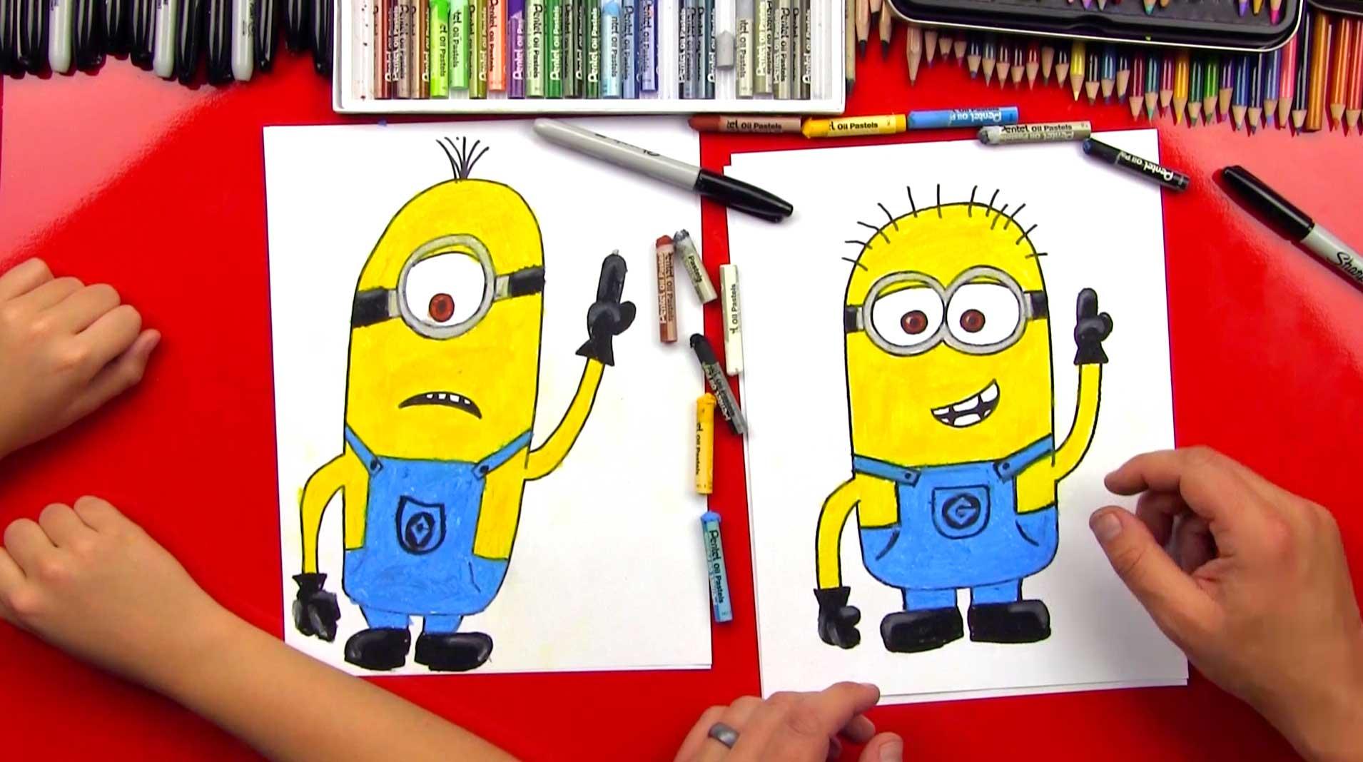 1910x1068 How To Draw A Minion