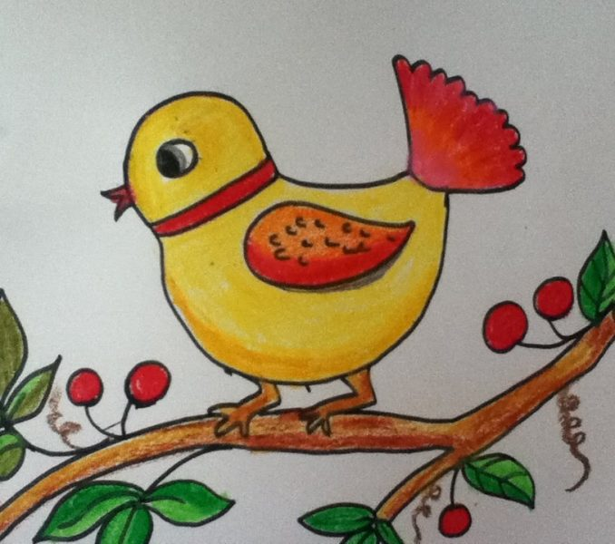 678x600 Pictures Of Kids Drawing Coloring Page Ideas