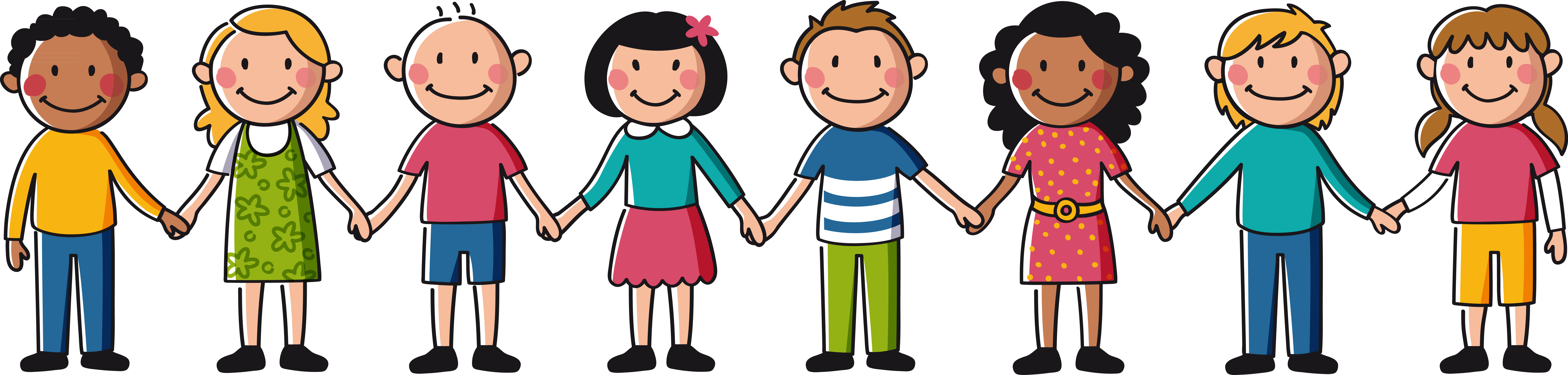kids holding hands drawing at getdrawings com free for personal rh getdrawings com cartoon holding hands drawing cartoon holding hands drawing