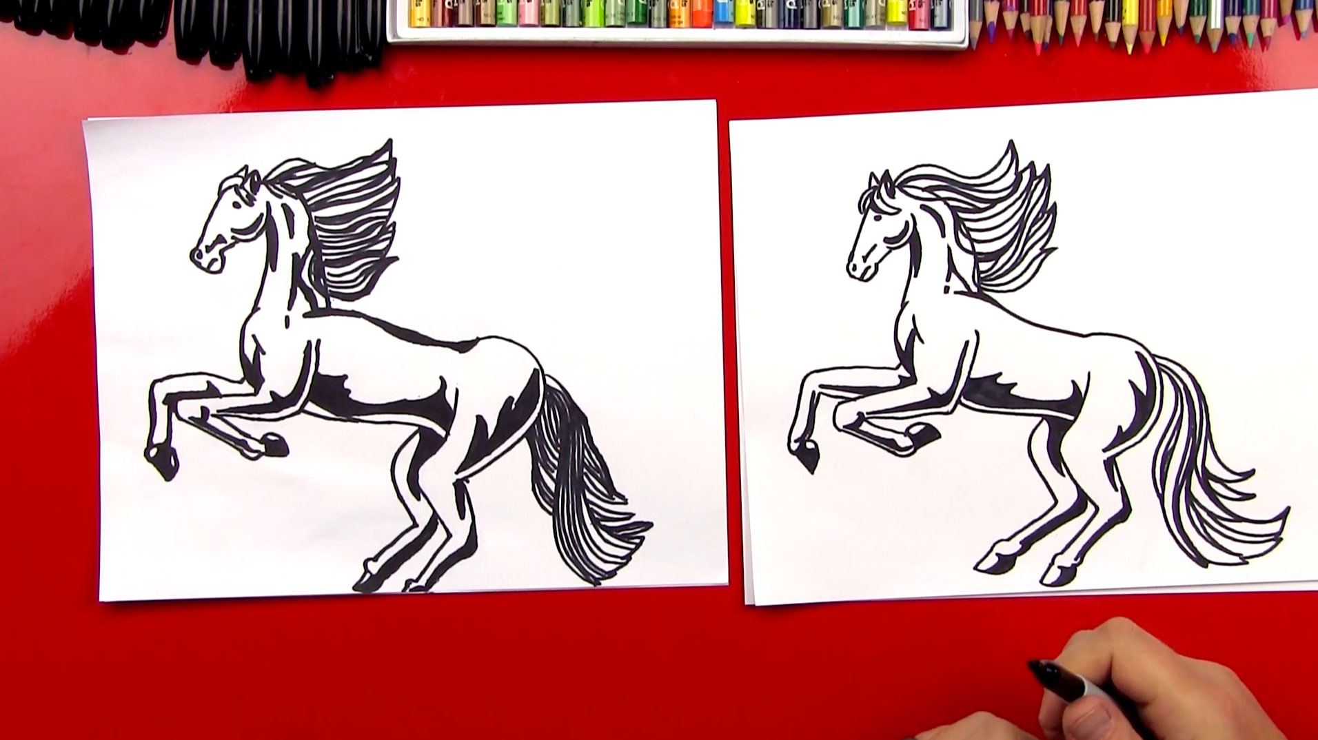 1912x1074 How To Draw A Realistic Horse (Part 1)