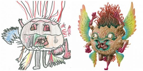 600x300 Multimedia Artists Bring Kids' Wacky Monster Drawings To Life