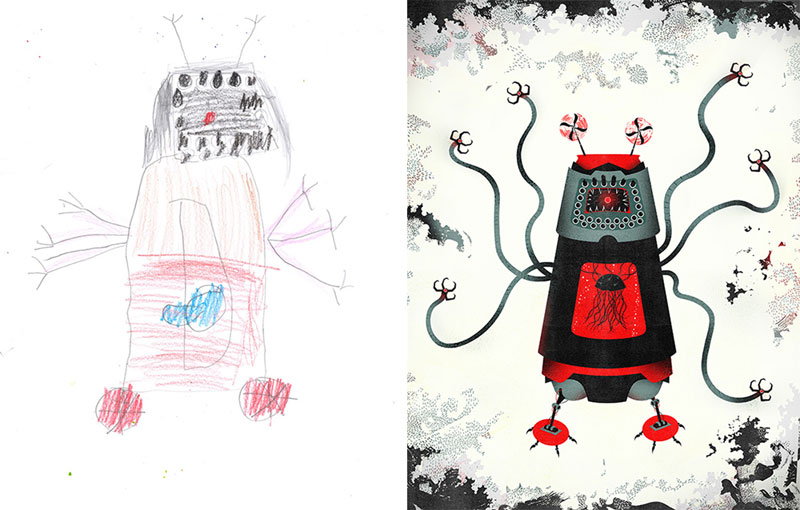 800x510 When Artists Bring Kids' Monster Drawings To Life (33 Photos