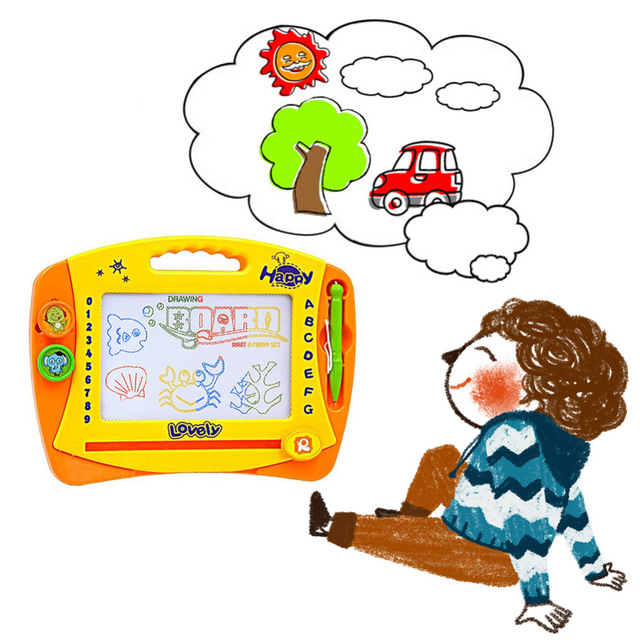 640x640 Baby Puzzle Magnetic Painting Drawing Board Kids Children Writing