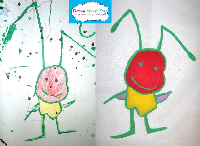 640x468 20 Best Plush Toys From Kid's Drawing! Images On Kid