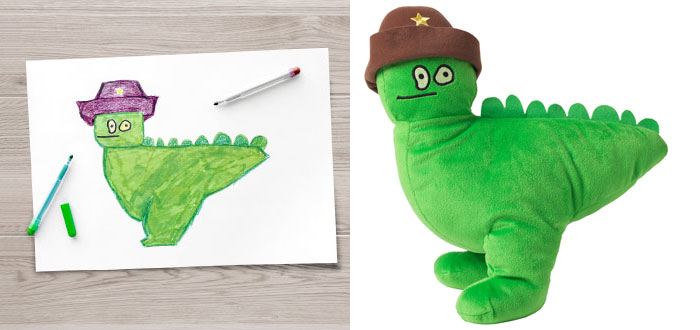 700x330 Ikea Turned Children's Drawings Into Real Plush Toys To Raise