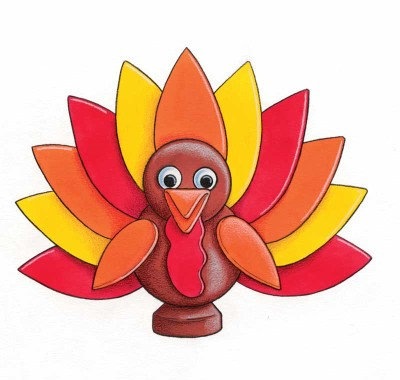 400x380 Turkey Crafts For Kids Howstuffworks