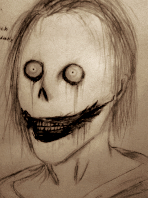 480x640 Jeff The Killer Sketch By Annethorn