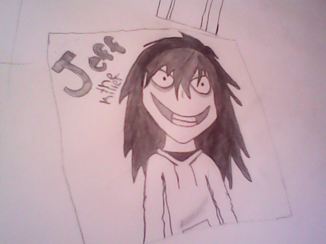 640x480 Jeff The Killer Drawing By Chibi Rainbow