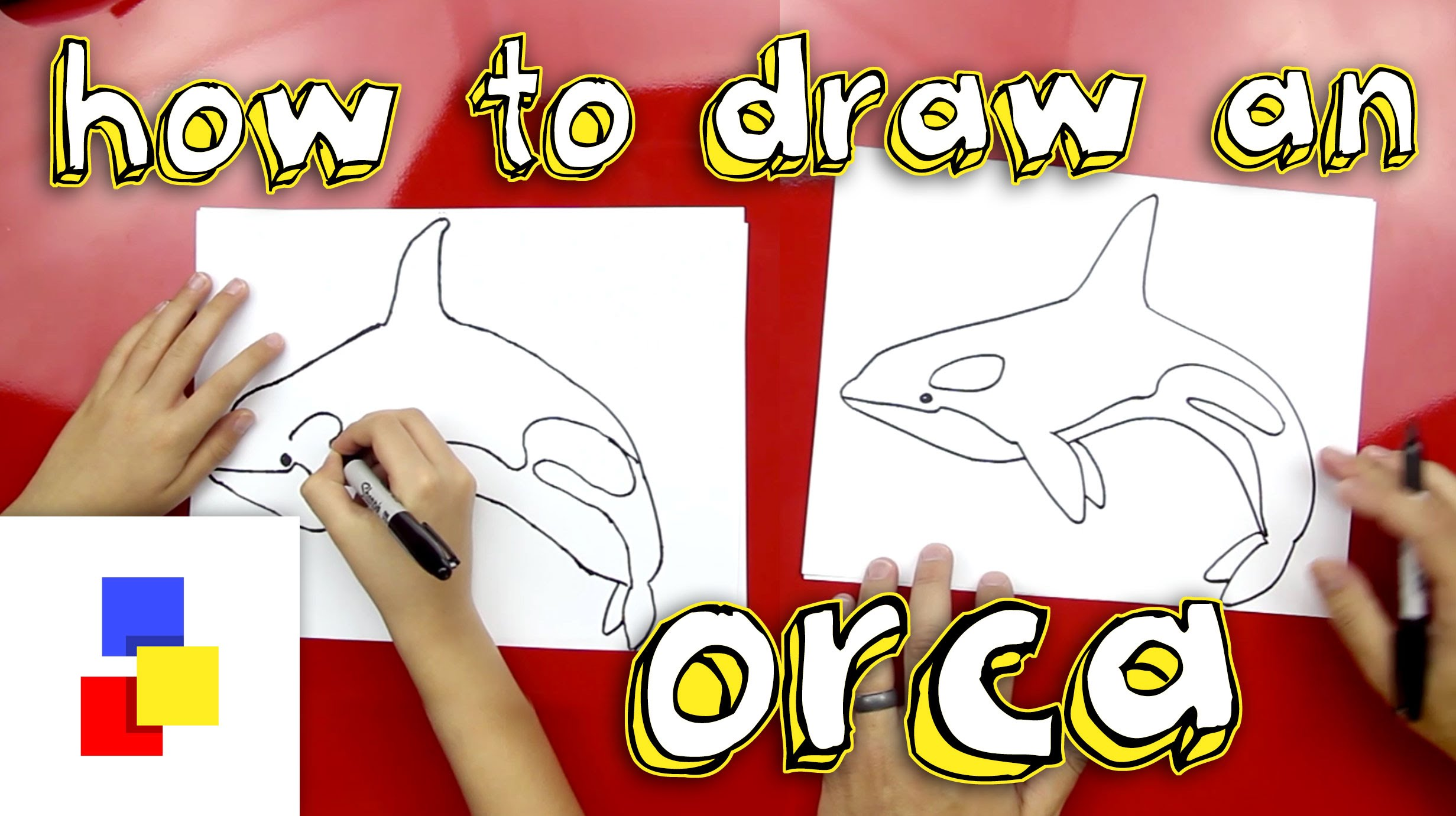 Killer Whale Drawing For Kids at GetDrawings.com | Free for personal ...