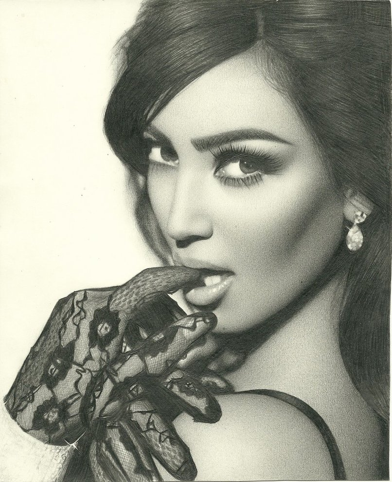 806x990 Kim Kardashian By Ricardo10