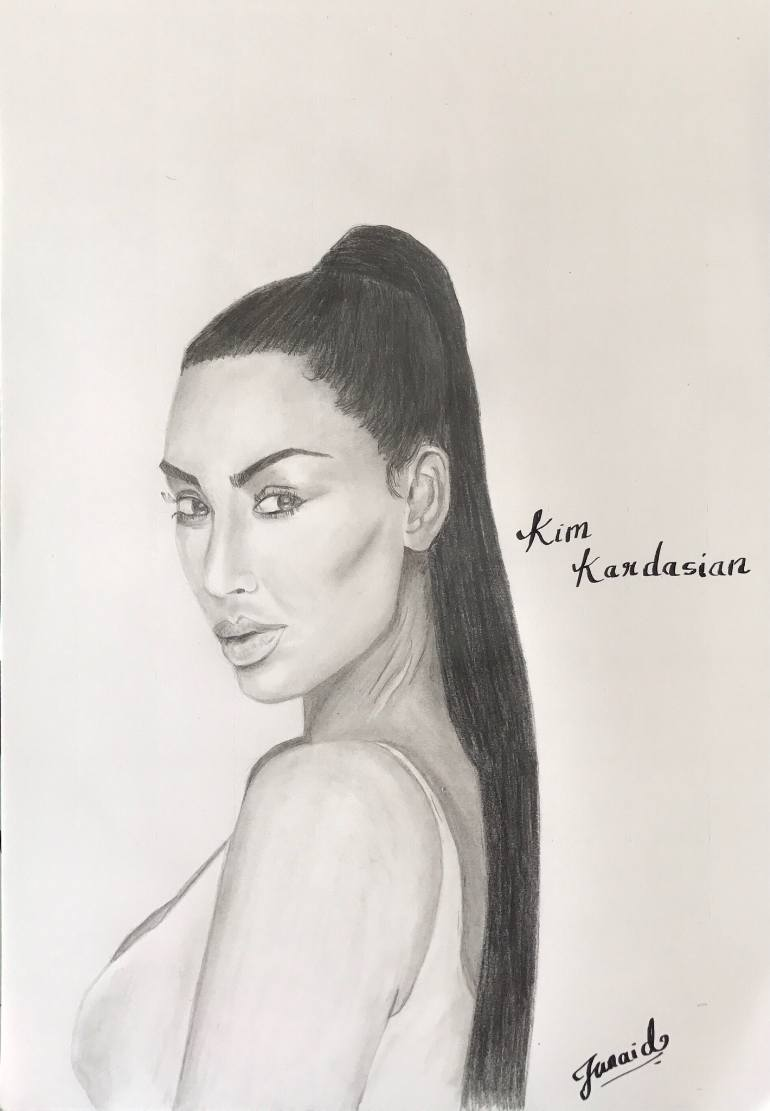 Kim Kardashian Drawing at GetDrawings.com | Free for personal use ...
