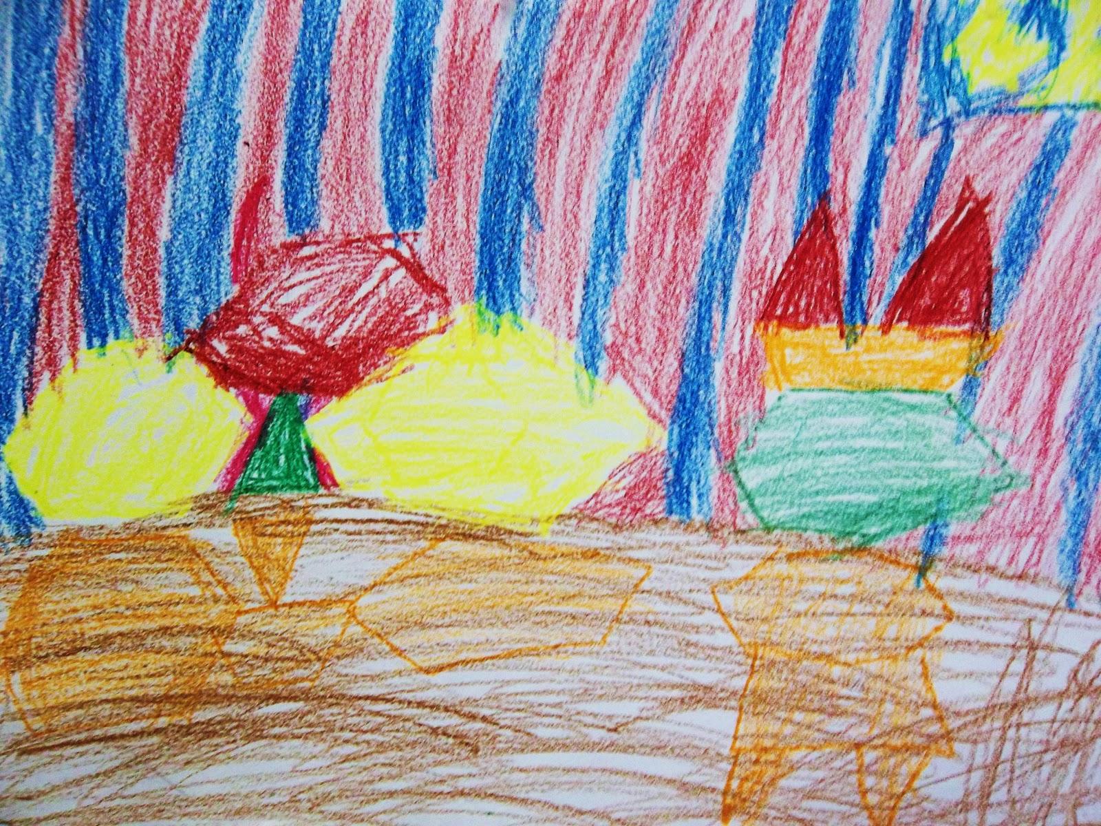 1600x1200 My Blue Art Room Kinder Still Life Drawing