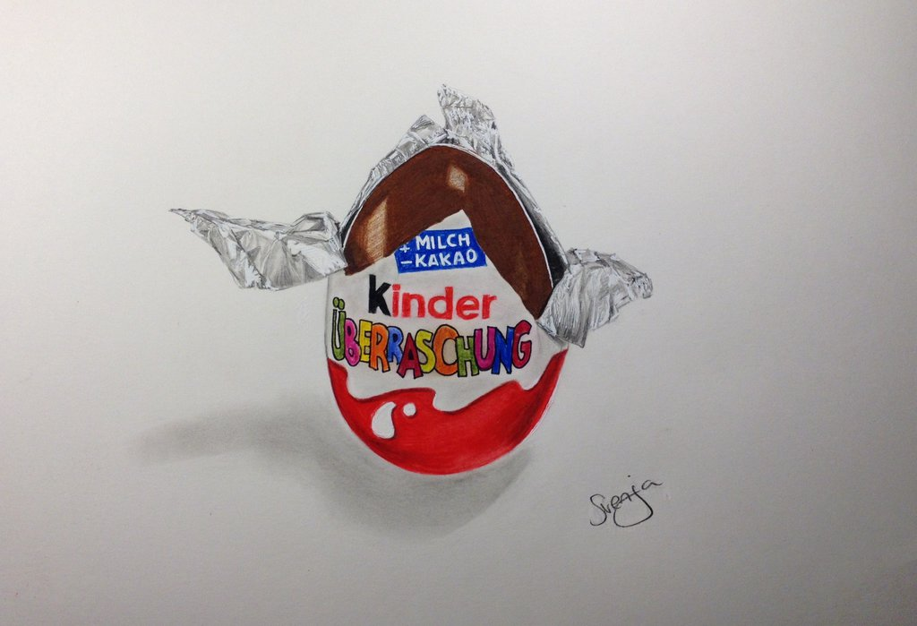 1024x699 Kinder Surprise Drawing ) By Lady1985