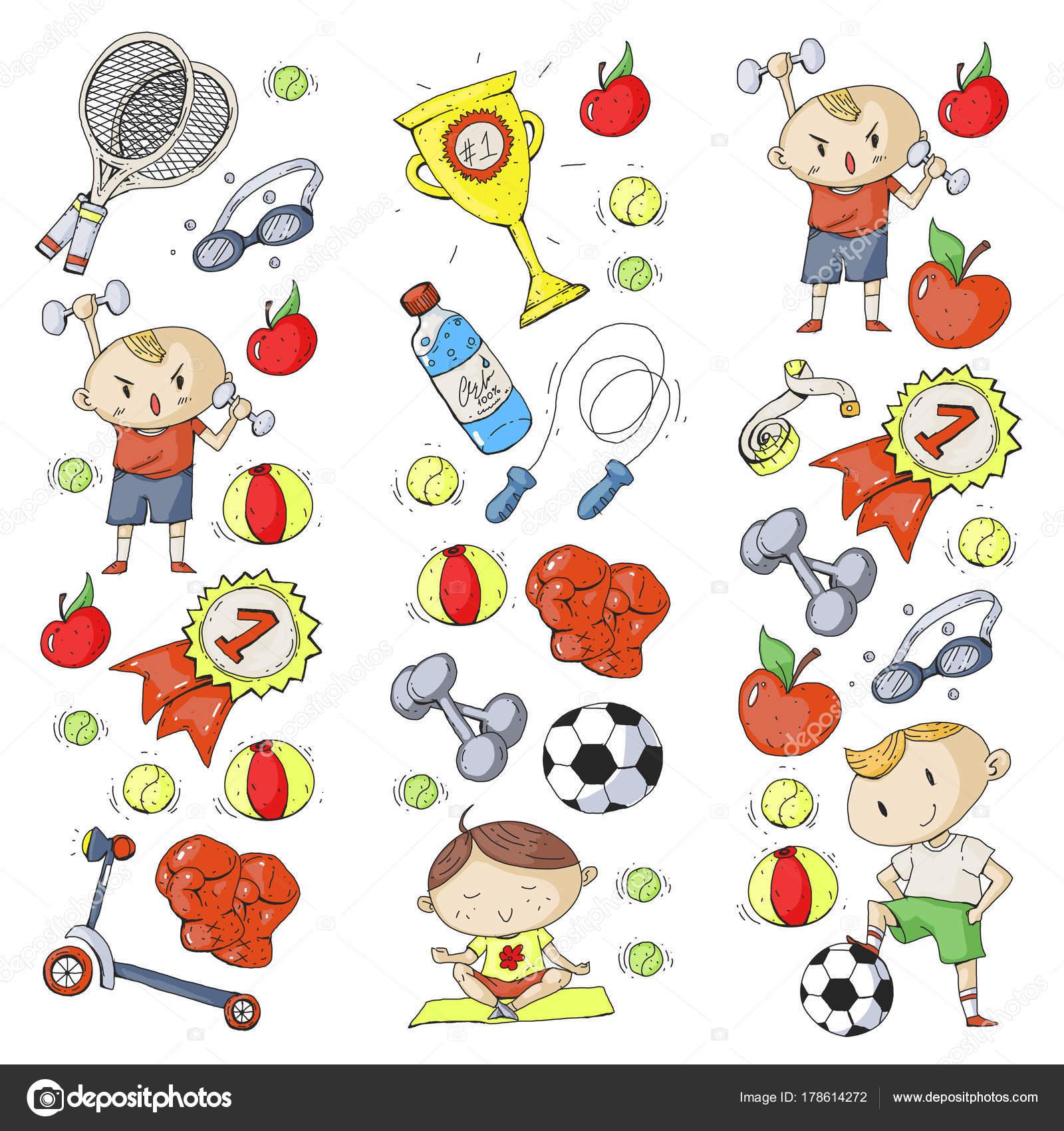 1600x1700 Children Sport. Kids Drawing. Kindergarten, School, College