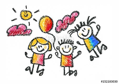 500x354 Kids Drawing Children Education, School, Kindergarten Play Study