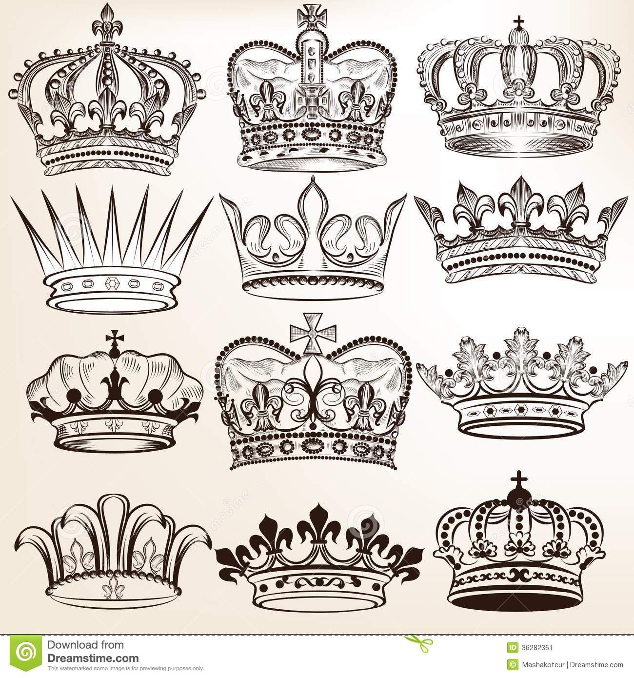 king and queen crown drawing at getdrawings com free for personal rh getdrawings com Female Crown Tattoo Designs Queen Crown Tattoo Sketch