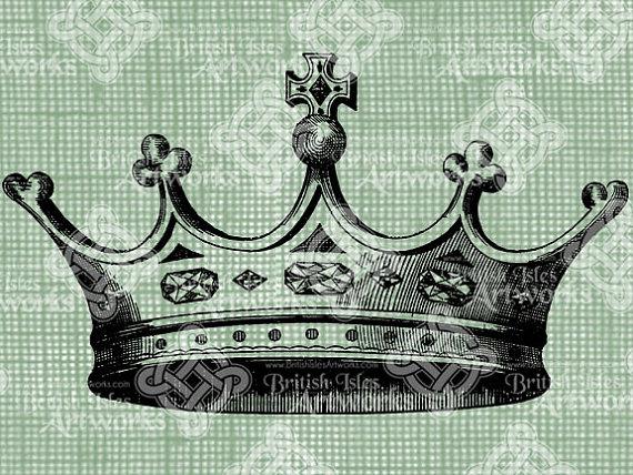 570x428 Digital Download Crown Princess King Queen Royal Headpiece