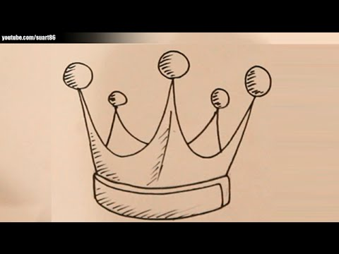 480x360 How To Draw A King Crown