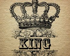 236x188 King Crown Drawing