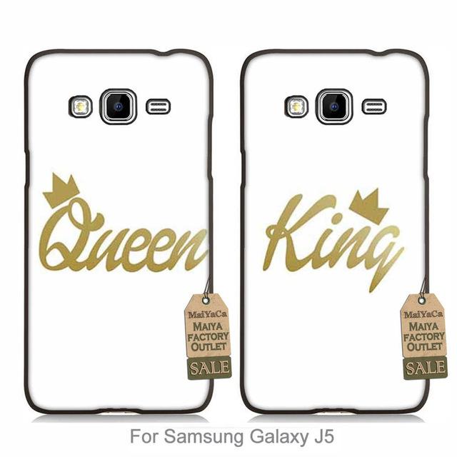 640x640 Maiyaca 2016 Colored Drawing Couple Hard Case For Samsung Galaxy