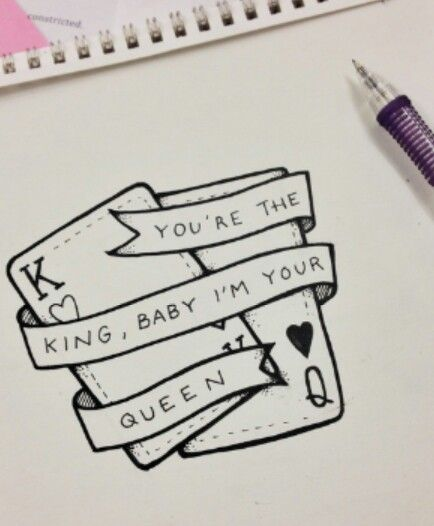 434x526 You'Re The King, Baby I'M Your Queen Piercings Amp Tattoos